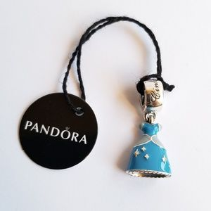 Pandora Disney, Cinderella's Dress Dangle Charm